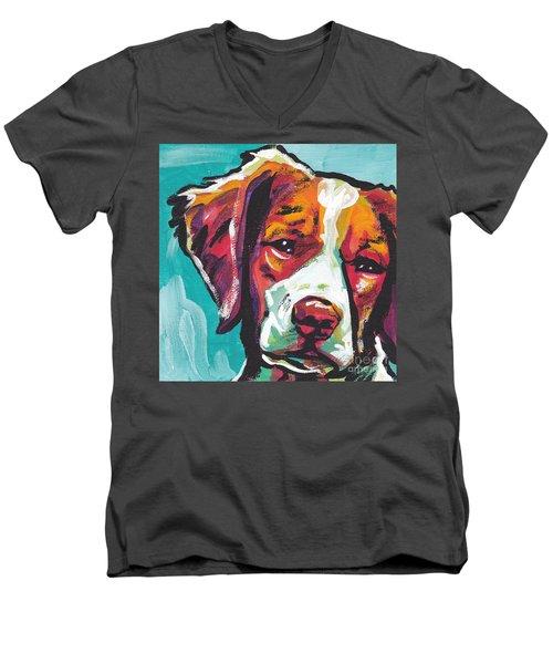 So Britt Men's V-Neck T-Shirt