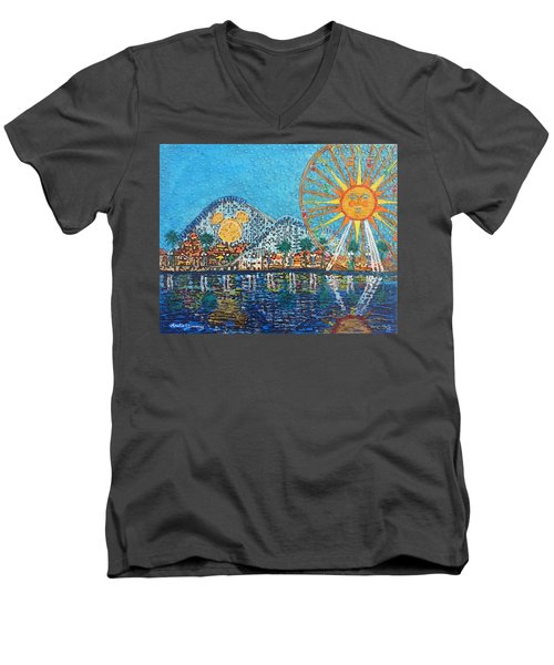 So Cal Adventure Men's V-Neck T-Shirt