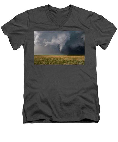So Close Men's V-Neck T-Shirt