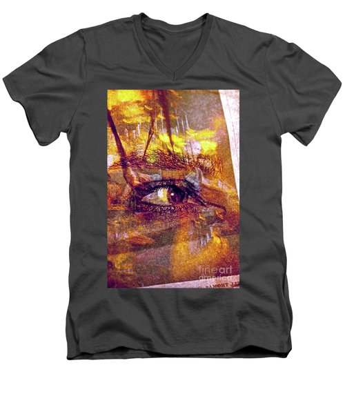 So Much To See Men's V-Neck T-Shirt