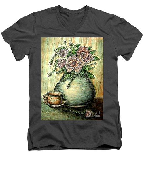 So Serene Men's V-Neck T-Shirt