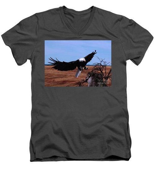 Soar Men's V-Neck T-Shirt