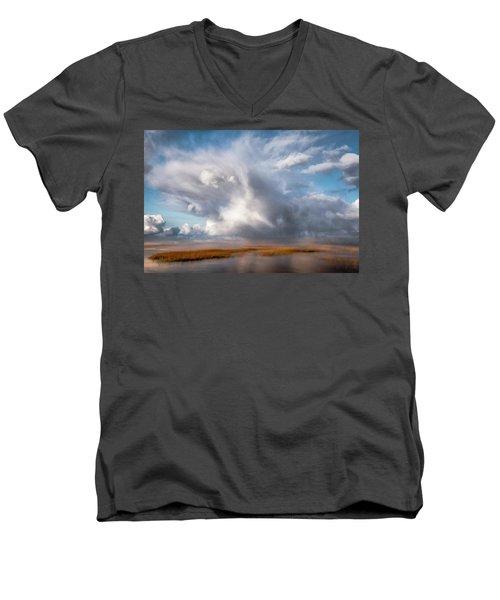 Soaring Clouds Men's V-Neck T-Shirt