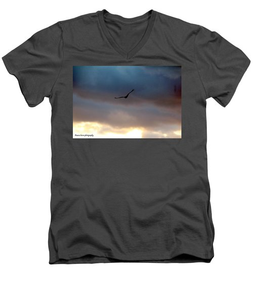 Soaring  Men's V-Neck T-Shirt