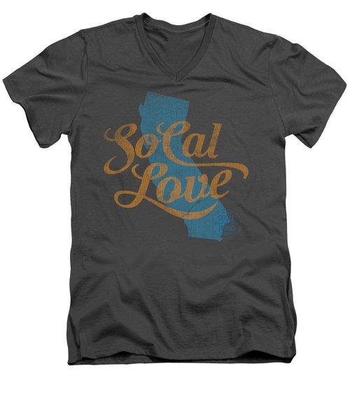 Socal Love Men's V-Neck T-Shirt
