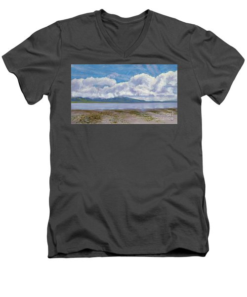 Soda Lake After The Storm Men's V-Neck T-Shirt
