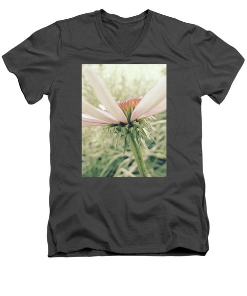 Soft Colors Men's V-Neck T-Shirt by Tim Good