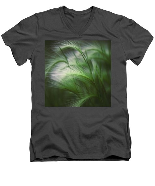 Soft Grass Men's V-Neck T-Shirt