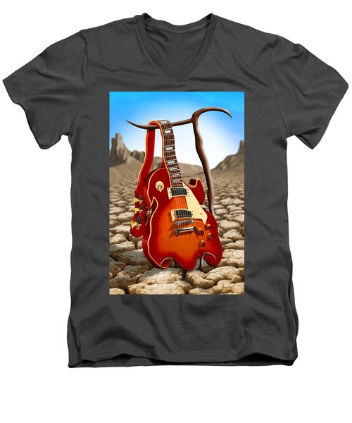 Soft Guitar Men's V-Neck T-Shirt