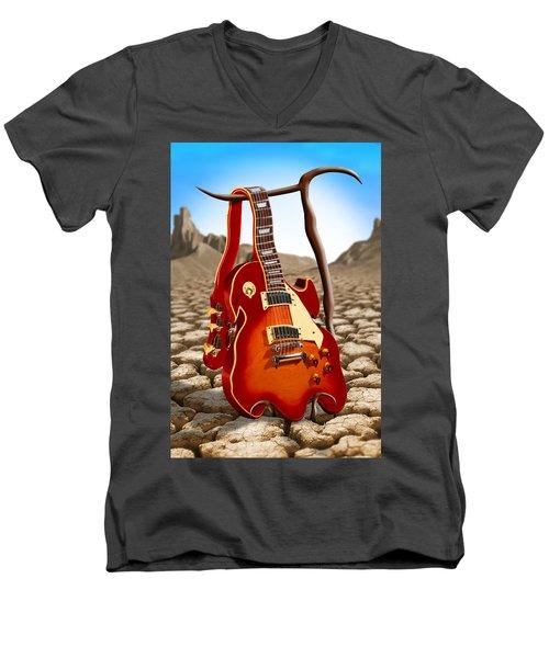 Soft Guitar Men's V-Neck T-Shirt