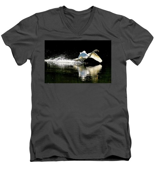 Soft Landing  Men's V-Neck T-Shirt