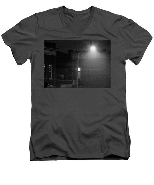 Soft Night Glow Men's V-Neck T-Shirt