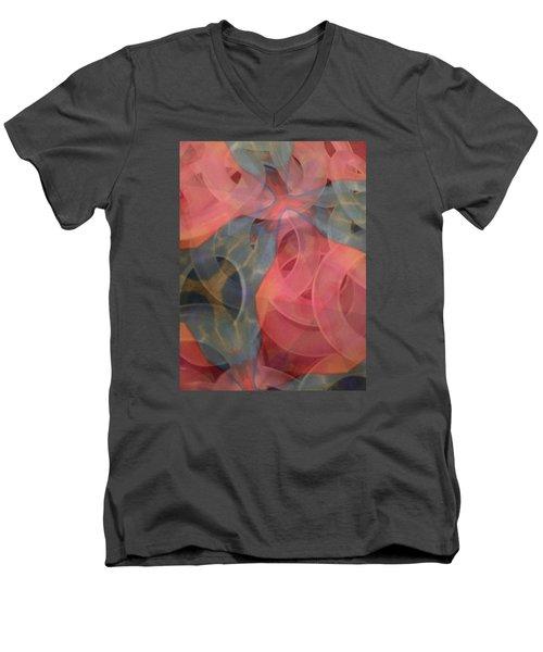 Soft Rings Men's V-Neck T-Shirt