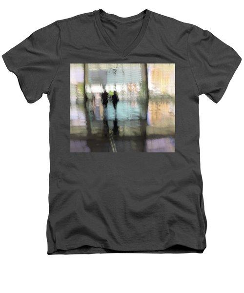 Soft Summer Afternoon Men's V-Neck T-Shirt