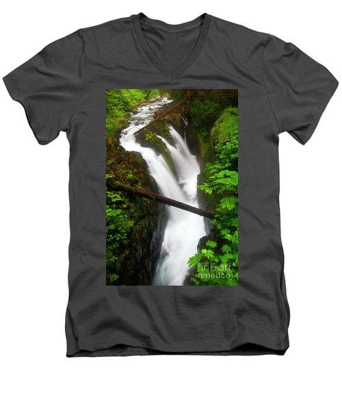 Sol Duc Rush Men's V-Neck T-Shirt