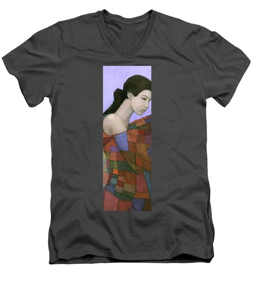 Solace Detail Men's V-Neck T-Shirt