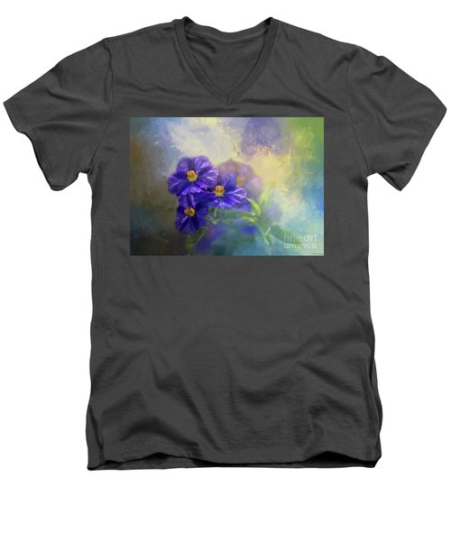 Solanum Men's V-Neck T-Shirt