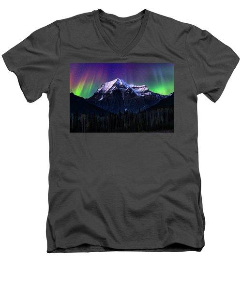 Solar Activity Men's V-Neck T-Shirt by John Poon