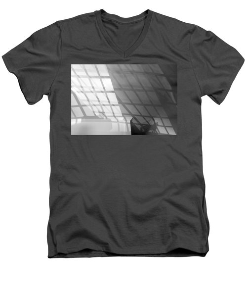 Solar Cat I 2013 1 Of 1 Men's V-Neck T-Shirt