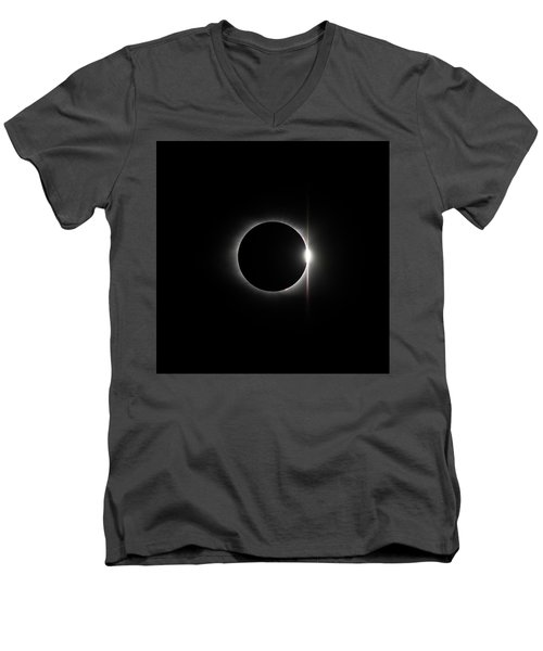 Solar Eclipse 1437 Men's V-Neck T-Shirt