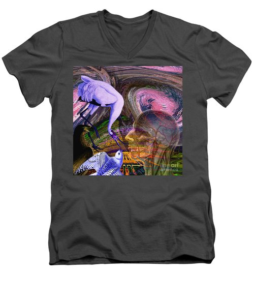 Solar Whisper Winds Of Change Men's V-Neck T-Shirt by Joseph Mosley
