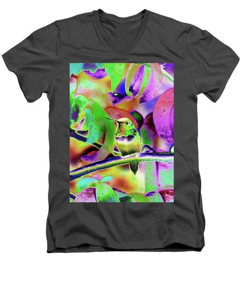 Solarized Hummer Men's V-Neck T-Shirt