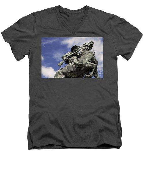 Soldier In The Boer War Men's V-Neck T-Shirt