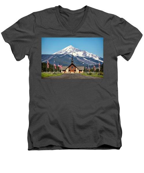 Soldiers Chapel Men's V-Neck T-Shirt