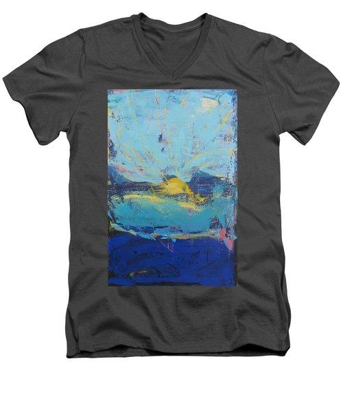 Soleil De Joie Men's V-Neck T-Shirt