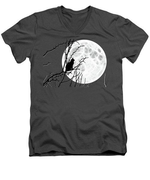 Solitary Men's V-Neck T-Shirt