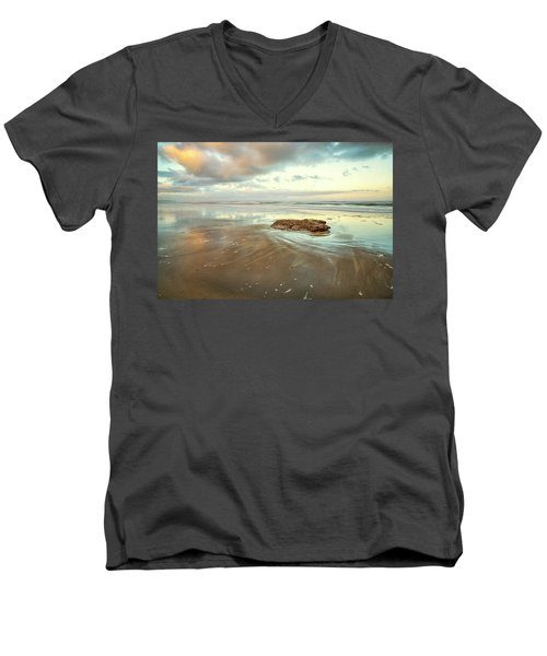 Solitary Rock Men's V-Neck T-Shirt