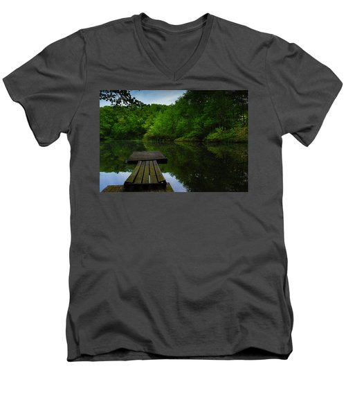 Solitudes  Men's V-Neck T-Shirt