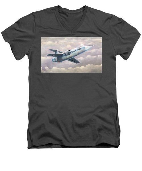 Solo Starfighter Men's V-Neck T-Shirt