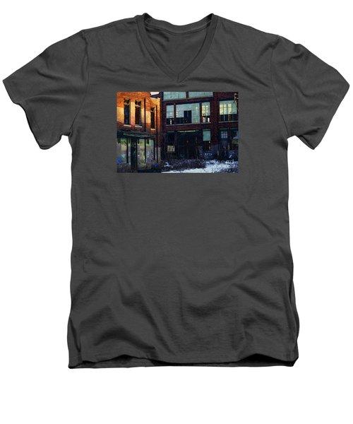 Solvay Coke Men's V-Neck T-Shirt