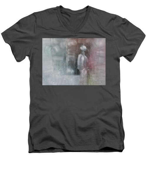 Some People Live Very Tired Men's V-Neck T-Shirt