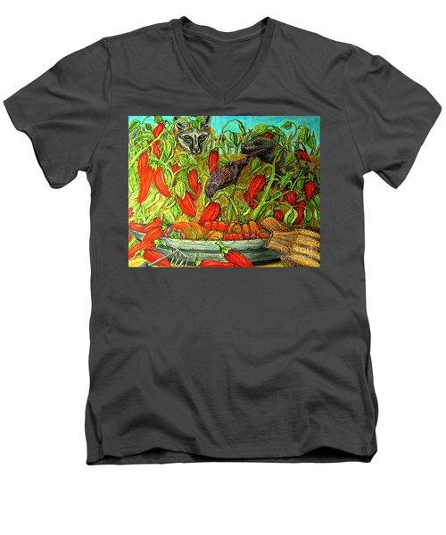 Somebodys Lucky Day Men's V-Neck T-Shirt