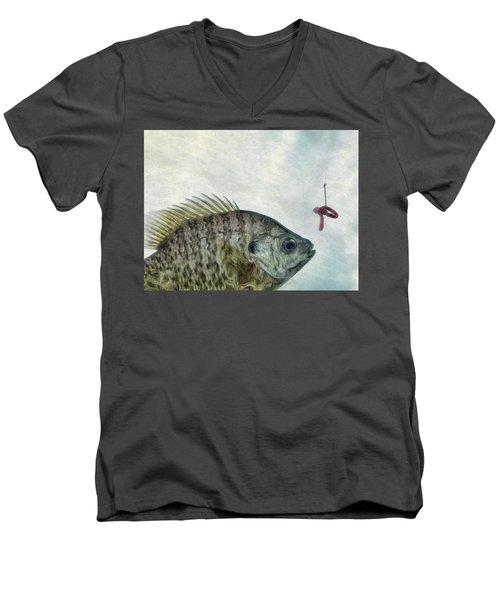 Something Fishy Men's V-Neck T-Shirt