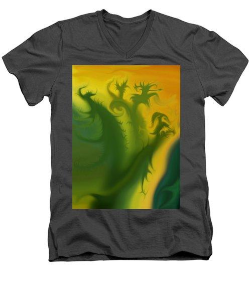 Something Green Men's V-Neck T-Shirt