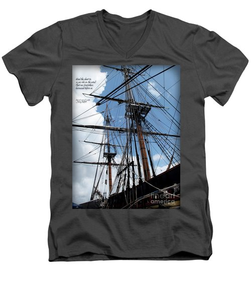 Son Of A Son Of A Sailor Quote - Tribute To The Bounty Men's V-Neck T-Shirt