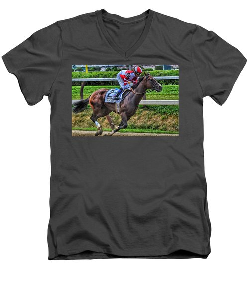 Songbird W Mike Smith Men's V-Neck T-Shirt
