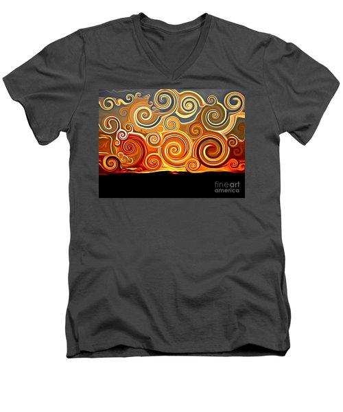 Sonora Sunrise  Men's V-Neck T-Shirt