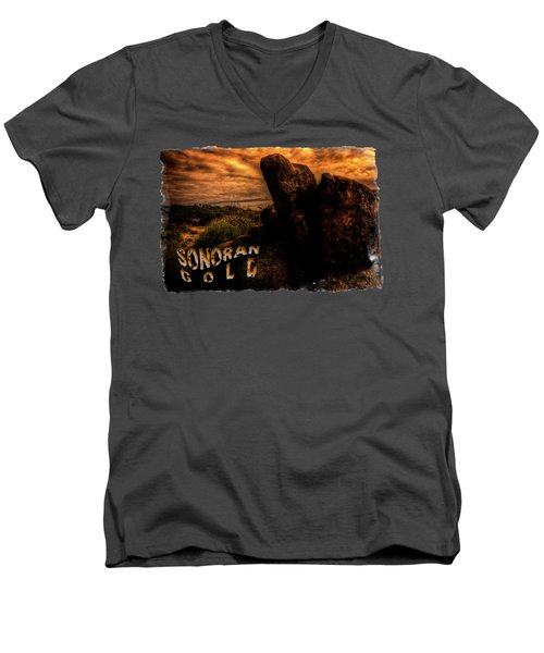Sonoran Desert Early Morning Men's V-Neck T-Shirt