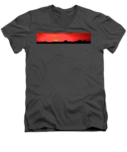 Sonoran Sunset  Men's V-Neck T-Shirt