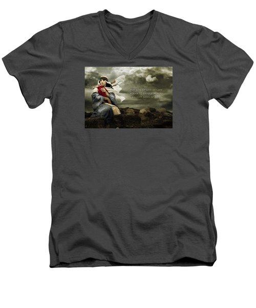 Sons Of God Men's V-Neck T-Shirt