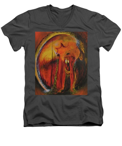 Sorcerer's Gate Men's V-Neck T-Shirt