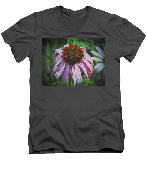 Men's V-Neck T-Shirt featuring the photograph Sorrow by Karen Stahlros