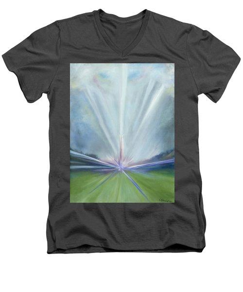 Soul Blastoff Men's V-Neck T-Shirt
