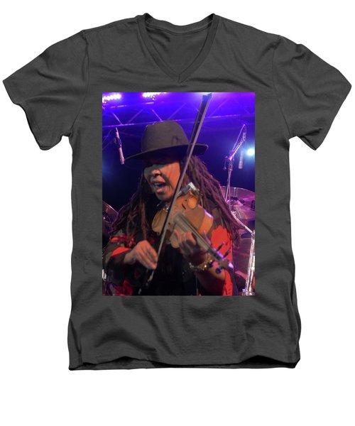 Karen Briggs - Soulchestral Groove Men's V-Neck T-Shirt