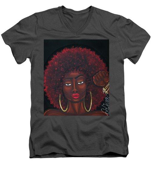 Soul Sista Men's V-Neck T-Shirt