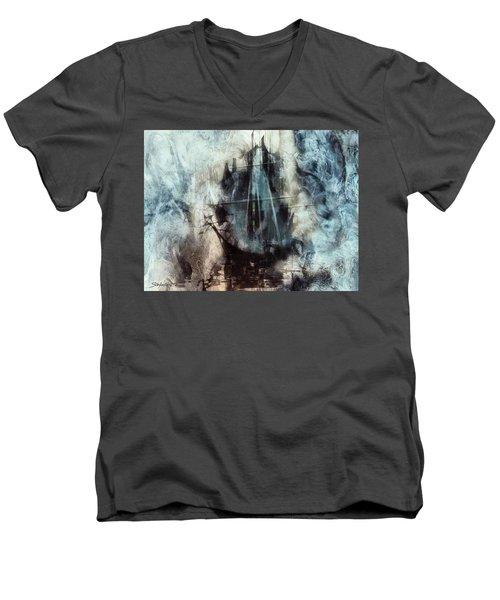 Sound Of Silence IIi Men's V-Neck T-Shirt